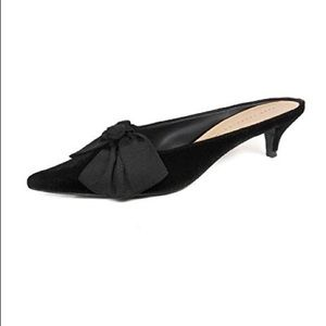 Zara Women Kitten heel mules with bow